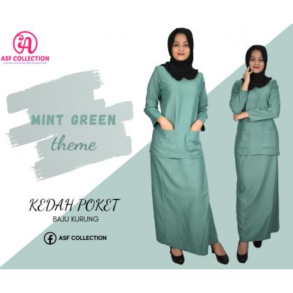 Baju Kurung Kedah Poket