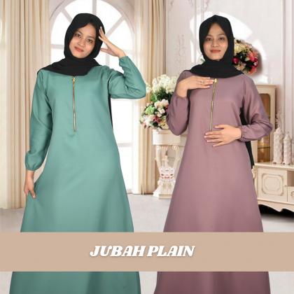 Jubah Plain Muslimah