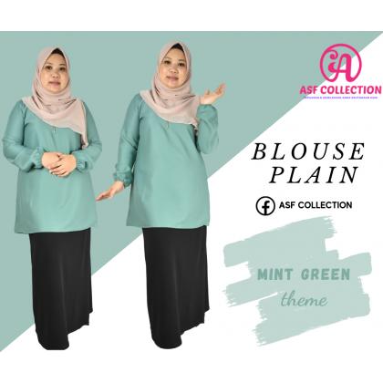 Blouse Plain Muslimah