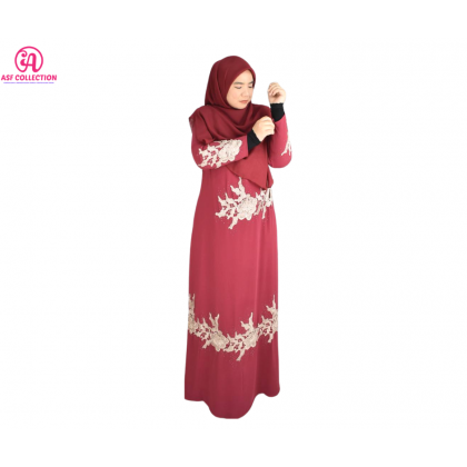 JUBAH LACE LAWA COLLECTION (RAYA 2021 COLLECTION)