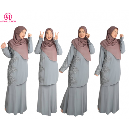 BAJU KURUNG LACE MODEN LAWA COLLECTION (RAYA 2021 COLLECTION)